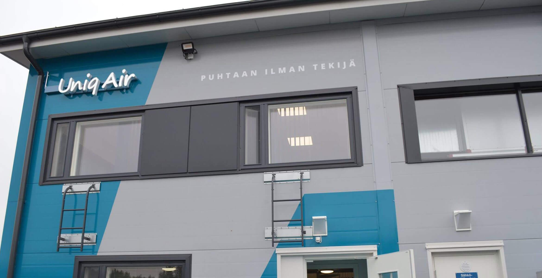 UniqAir avasi kolme kertaa suuremmat tuotantotilat - Artikkelit - UniqAir