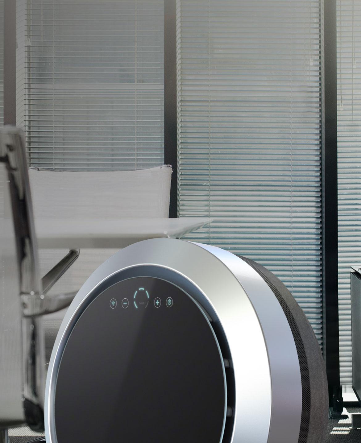Uniq-ilmanpuhdistin toimitiloihin